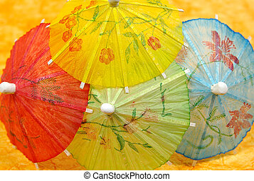 paraguas del coctel