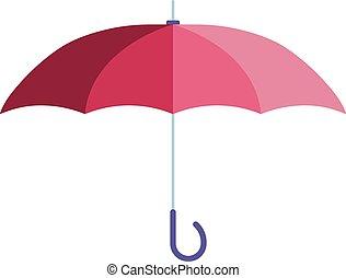 paraguas, illustration., vector