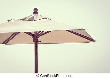 paraguas, playa