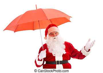 paraguas, santa