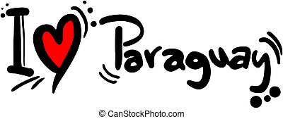 paraguay, amour