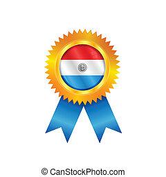 Paraguay medal flag