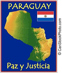 paraguay, motto