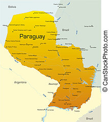 paraguay, pays