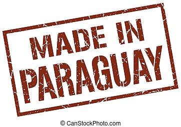 paraguay, timbre, fait