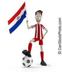 paraguayen, joueur football