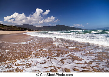 paraisos , ilha tropical, praia