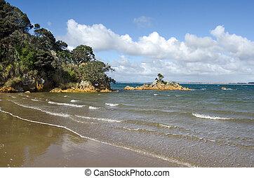 Parakerake bay in Northland New Zealand
