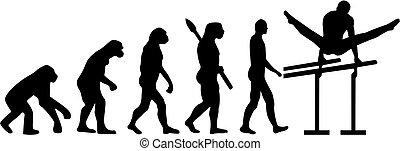 Parallel bars evolution