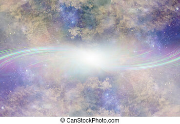 Parallel Universe Portal Background - Two Beautiful heavenly...