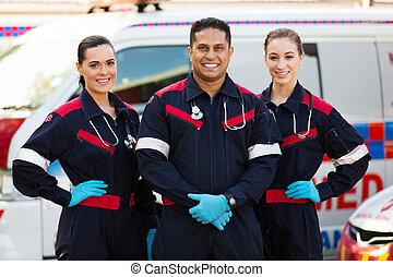 paramédico, grupo