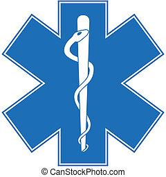 paramedic, caduceus
