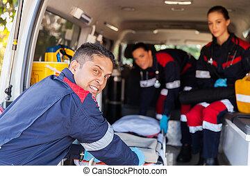 paramedic, hold