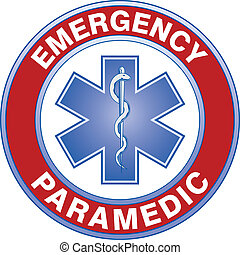 Paramedic Medical Design - Illustration of an emergency...