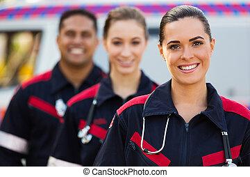 paramedic team