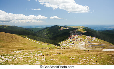 Parang mountains in Romania - Beautiful landscape from...