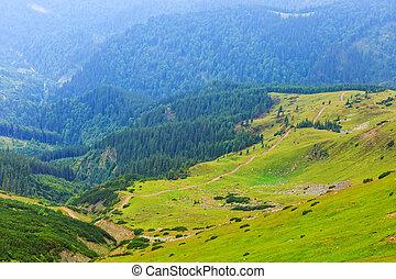 parang, rumania, montañas