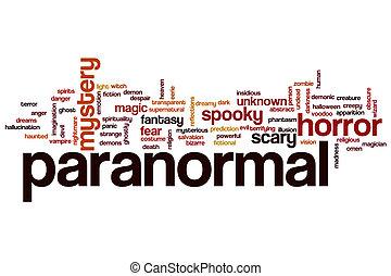 Paranormal word cloud