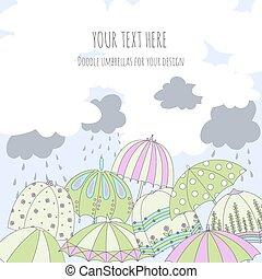 parapluie, carte