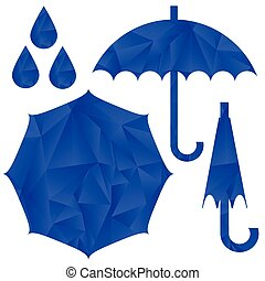 parapluie, ensemble