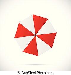 parapluie, illustration
