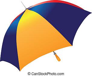 parapluie, multicolore
