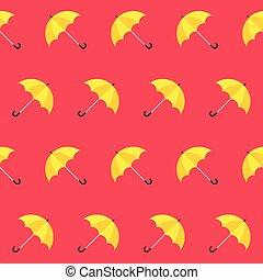parapluie, pattern., coloré