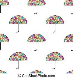 parapluie, pattern., seamless