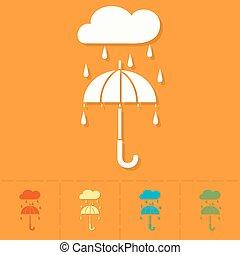 parapluie, pluie