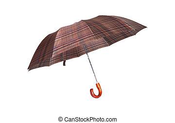 parapluie rayé