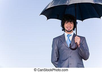 parapluie, sous