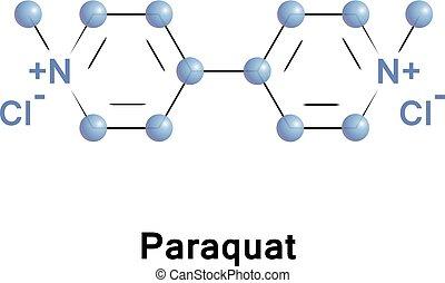 Paraquat organic viologen