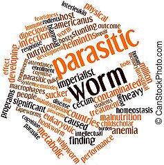 parasitiske, orm
