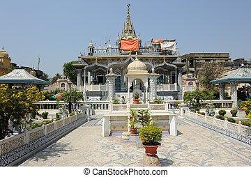 Parasnath Temple in Kolkata