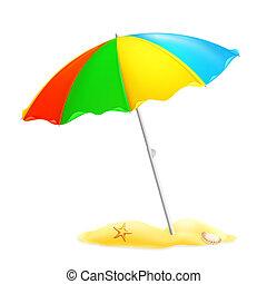 parasol, 10eps, playa