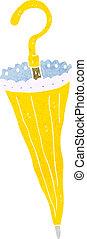 parasol, caricatura
