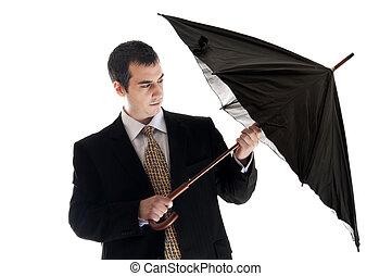 parasol, handlowiec