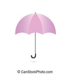 parasol, ilustracja