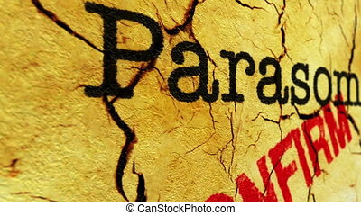Parasomnia disease confirm