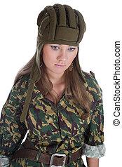 paratrooper girl