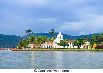 Paraty (or Parati), Brazil. - Paraty (or Parati) is a...
