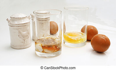 Parboiled egg and equipment accessory