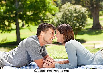 parc, couple