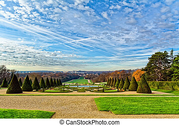 Parc of Sceaux, Paris, France - Parc of Sceaux is a large...
