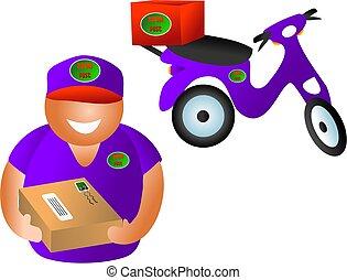 parcel delivery - parcel post