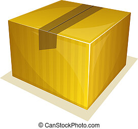 Parcel package - Vector illustration of Parcel package...