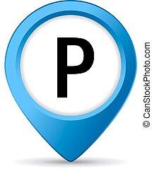 parcheggio, segno