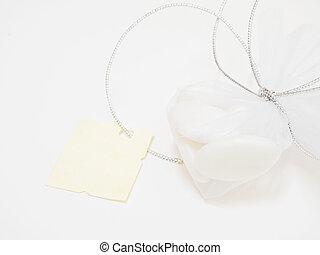 parchment., 砂糖で甘くされる, アーモンド, 小さい