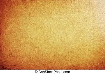 parchment., 老