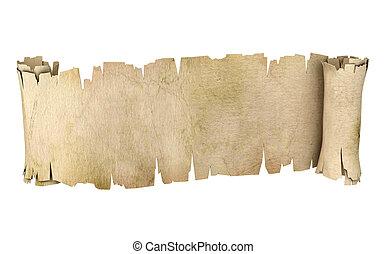 parchment banner